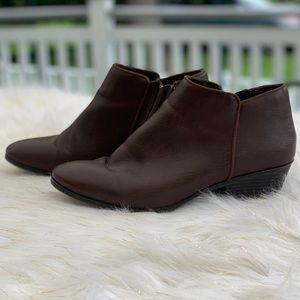 St. John's Bay brown boots size 10